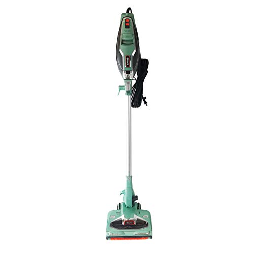 Shark Rocket with DuoClean Technology Ultra-Light Corded Stick Vacuum Cleaner HV384QGN Upholstery Tool and Motorized Floor Nozzle for Bare Floor, Rug and High Pile Carpets HV384Q (Renewed) (Green)