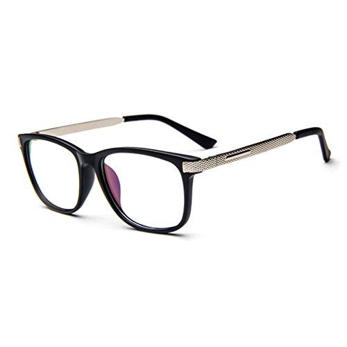 [G&T Retro Fashion Men Womens Can Match Glasses Myopia Metal Leg Plain Casual Sunglasses(C3)] (Neo Costumes Sunglasses)