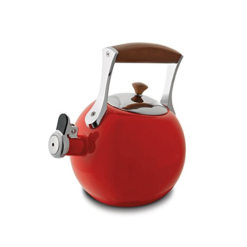 Nambe MT0890 Tea Kettle, Red