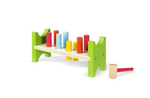 d6ce9a59dce37 ColorBaby - Juego de figuras y martillo de madera (40999)  Amazon.es   Juguetes y juegos