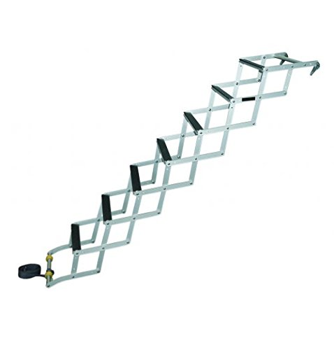 JIF Marine EON7 7-Step Bow to Beach Ladder with Mounting (Bow Ladder)