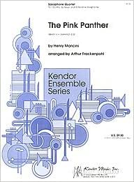 The Pink Panther Arranged By Arthur Frackenpohl  For Saxophone