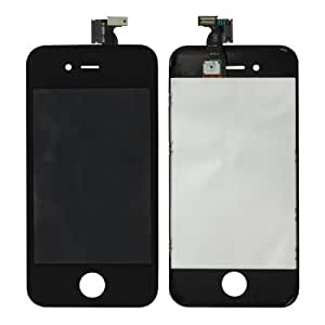 Sef Shop # 4631023en 1(New High Quality LCD, Touch Pad, LCD FRAME) Digitizer Assembly for iPhone 4(Black)