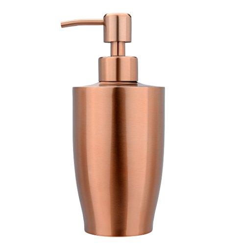 uxcell Soap Lotion Button Dispenser, 400ML Press Bottle Hous