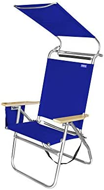 Copa Big Tycoon 4 Position Portable Lightweight Folding Aluminum Beach Lounge Chair