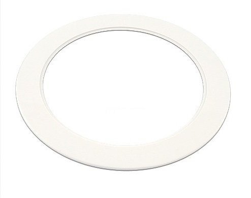 5 Goof Ring Plastic White Light Trim Ring Recessed Can 6