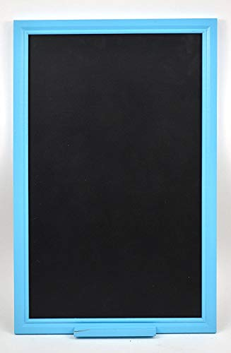 Concepts Decorative Kitchen Chalkboard With Blue Chalk Ledge 14''x22'' Wedding or Kitchen Pantry by Concepts