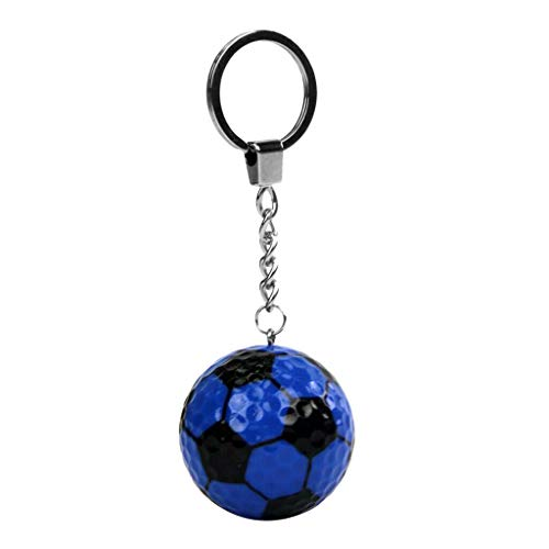 NATFUR Fashionable Keyring Golf Ball Keychain Charm Pendant Bag Purse Car Key Chain Pretty Novelty for Women Cute Holder for Girls for Gift Pretty | Color - Dark Blue Contemporary Leather Letter Opener