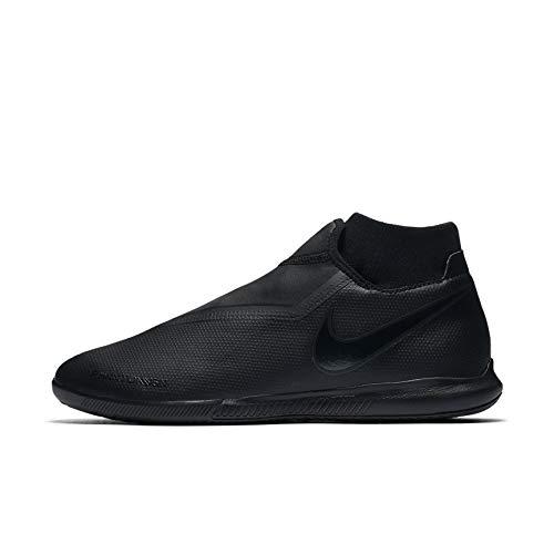 (Nike Men's Phantom VSN Academy DF IC Soccer Shoes (10 D(M) US, Black/Black) )