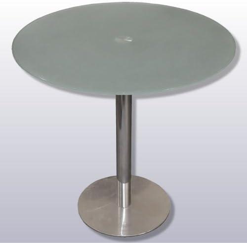 Hogarymuebles - Slim mesa circular bt-134, color mate: Amazon.es ...