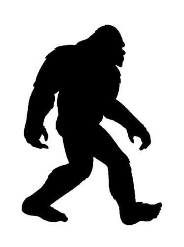 Bigfoot Decal Sasquatch Sticker inches product image