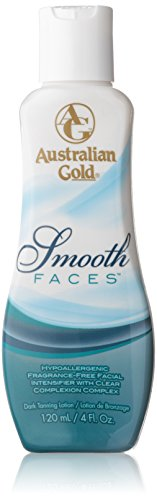 Ausrialian Gold Smooth Faces Facial Intensifier Tanning Lotion, 4 Fluid Ounce