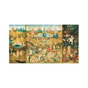 9000 Piece Puzzle - The Garden Of Earthly Delights by Educa