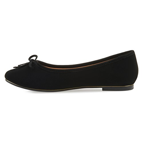 Bow Flats Black Width Journee Journee Wide Ballet Collection Collection Womens wxTY8qxU