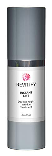 Revitify Instant Lift-Day and Night Wrinkle Treatment Serum- A Natural Luxurious Wrinkle Control Serum- Premium Anti-Aging Serum - Improved - Control Wrinkle Serum