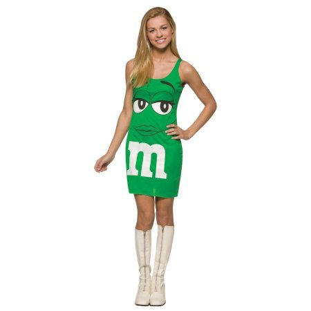 M&M Candy Green Tank Dress Costume Teen Teen 13-16