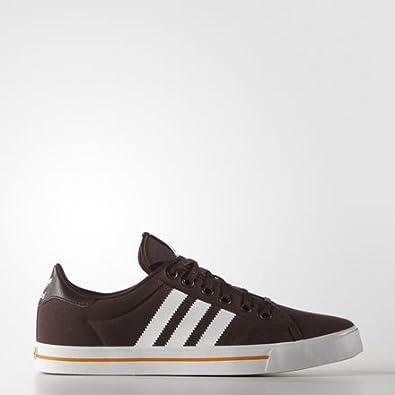 best website 9f15b 19223 adidas - adi Court Stripes Schuh - Night Red - 37 13