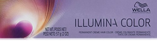 Wella Illumina Permanent Creme Hair Color, 10/38 Lightes ...