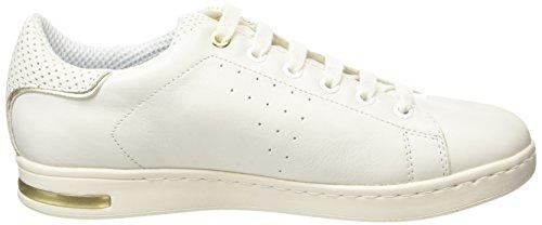 Geox D Jaysen A - Zapatillas para mujer Blanco - Blanc (Bianco)