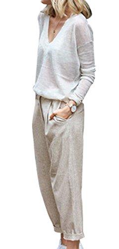 Linen Cotton Cropped - 7
