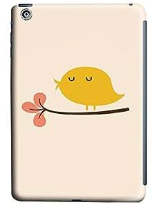 iPad Mini Flat Minimal Cute Bird Illustration258 PC Custom iPad Mini Case Cover