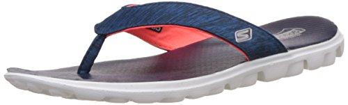 Skechers Skechers Ladies On The Go Flow Toe Post Summer Flip Flop Sandal Navy Synthetic UK Size 5 (EU 38, US 8)