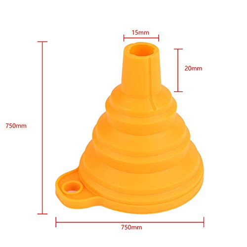 Drawoz Taza de filtro de resina UV de metal con embudo de silicona desechable para impresoras ANACUBIC Photon SLA 3D