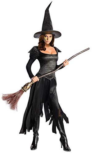 Rubie's Costume Disney's Oz The Great and Powerful Wicked Witch Of The West Dress and Hat, Black, -