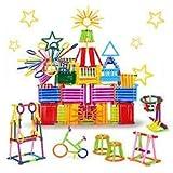 KITI KITS Kids Smart City Blocks for Educational Building with 175+ Stick (Multicolour)