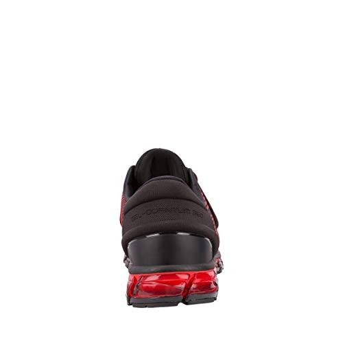 Gel 360 Course Chaussures Homme Asics Noir Pour 4 Flash Rouge De quantum fp1BEq