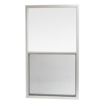 Park Ridge AMHW3054PR Aluminum Mobile Home Single Hung Window 30 Inch x 54 Inch, White