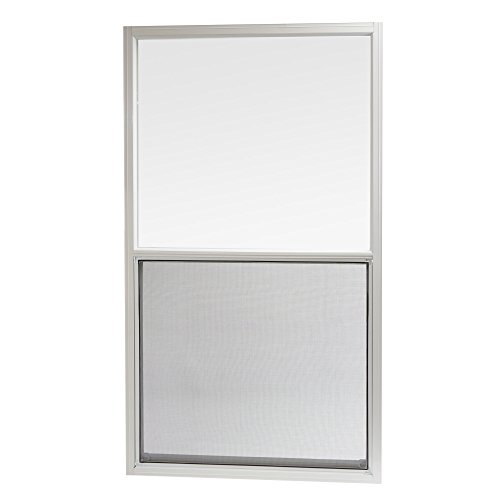 Park Ridge AMHW3054PR  Aluminum Mobile Home Single Hung Window 30 Inch x 54 Inch, White by Park Ridge Products