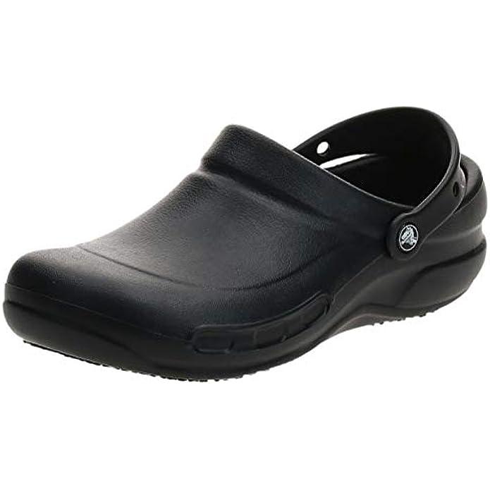 Crocs Men's and Women's Bistro Clog | Slip Resistant Work Shoes
