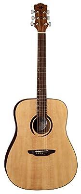 Luna WABI D WABI SABI Dreadnought Solid-Top Acoustic Guitar by Luna
