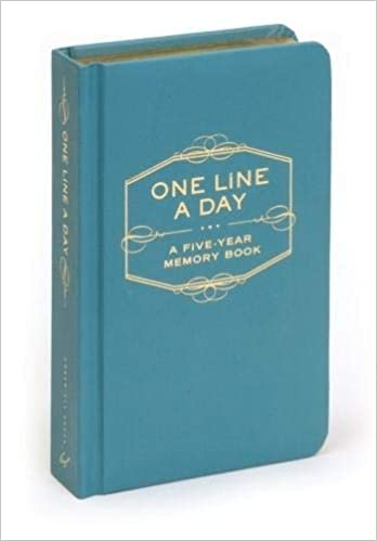 One Line A Day A Five Year Memory Book Chronicle Books Staff
