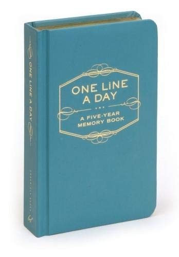 (One Line A Day: A Five-Year Memory Book (5 Year Journal, Daily Journal, Yearly Journal, Memory Journal))