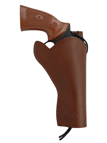 Barsony NEW Brown Leather 49-er Style Gun Holster for COLT DIAMONDBACK right