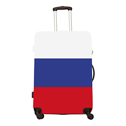 De OHQ Bagages Dimensionelle La Russie Drapeau AntipoussièRe Imprimant a Multicolore National Impression Valise Multicolore Multi Botte Taille Multi FnC4qIC