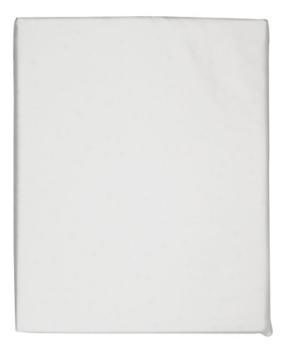 Hudson Park Sheet 600 Tc Egyptian Cotton Fitted White Queen Sheet (Hudson Collection)