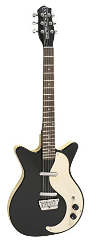Danelectro D59MOD-BLK Modified Hollow-Body Electric Guitar