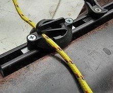 Quick Cleat No-knot Kayak Cleat (2ea), for 1/4'' rope