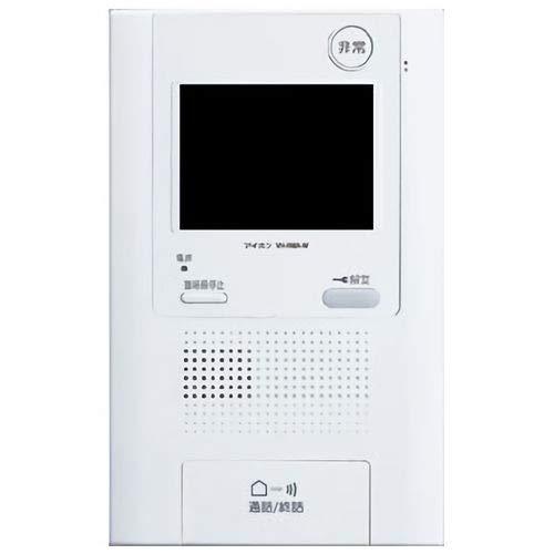 アイホン VH-RMA-W DASH WISM 住戸用自火報対応モニター付セキュリティ親機、タッチパネルタイプ B07JZ9LSBC