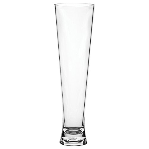 Hunter Beer Glass - Carlisle 564907 Alibi Shatter-Resistant Plastic Pilsner Glass, 16 oz (Set of 24)