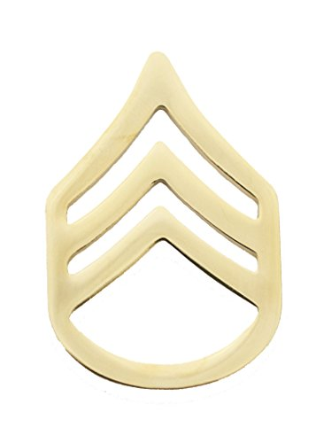 SSG Army Enlisted Rank E-6, Staff Sergeant by Marlow White Uniforms
