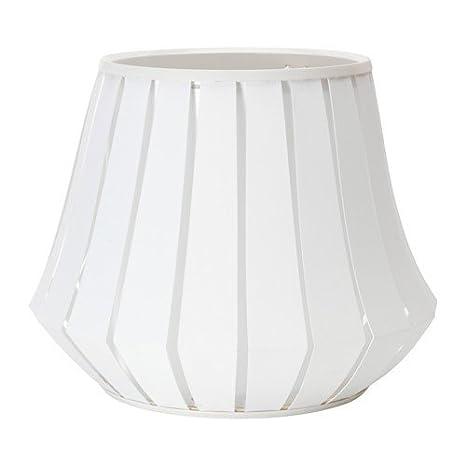 Ikea lakheden lámpara pantalla en color blanco; (45 cm ...
