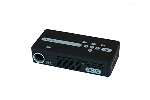 AAXA Technologies P4 X Pico - Proyector (95 lúmenes ANSI, DLP, WVGA (854x480), 15000h, LED, Manual) Negro