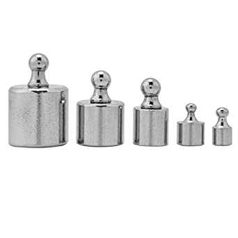 5Pcs Calibration Weight 1g 2g 5g 10g 20g Grams Precision Calibration Scale Weight Test Set Kit New Scale Weight