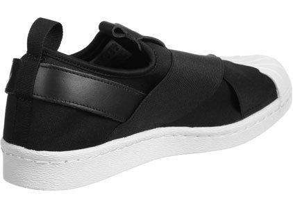 Scarpa Black Superstar On Slip Adidas Core W PIqR0w