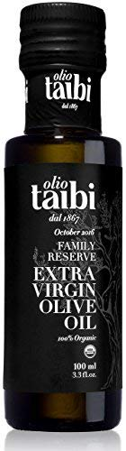 2018 GOLD WINNER Olio Taibi Award-Winning Extra Virgin Olive Oil, 100% Organic Certified, Monocultivar