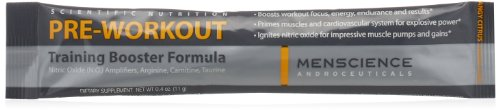 MenScience Androceuticals Pre-Workout Training Booster Formu